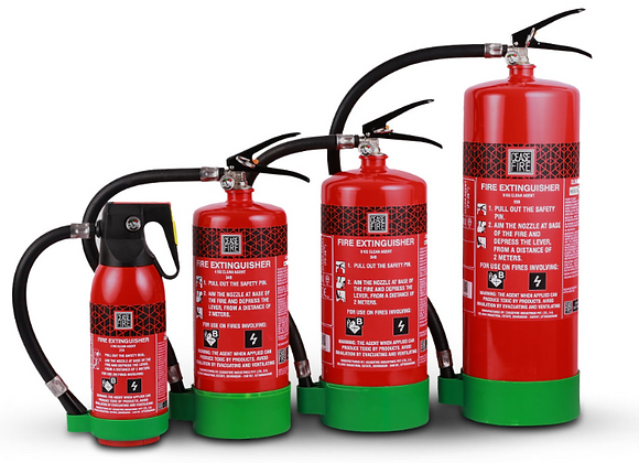 HFC236fa Based (Clean Agent) Fire Extinguishers