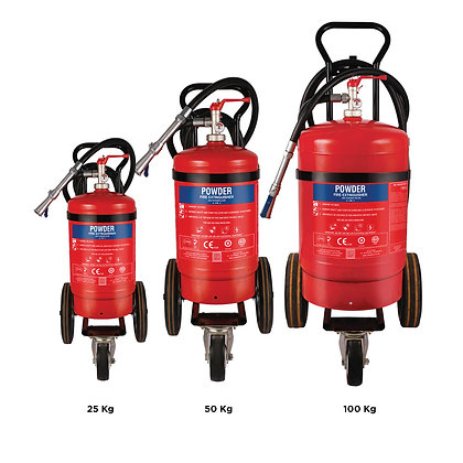 ABC Powder Based Trolley Mounted Fire Extinguishers