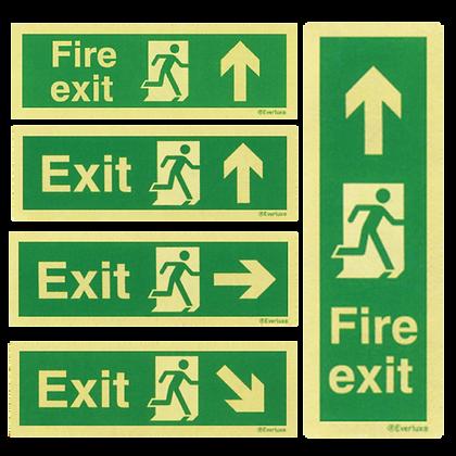 Emergency Exit Signages