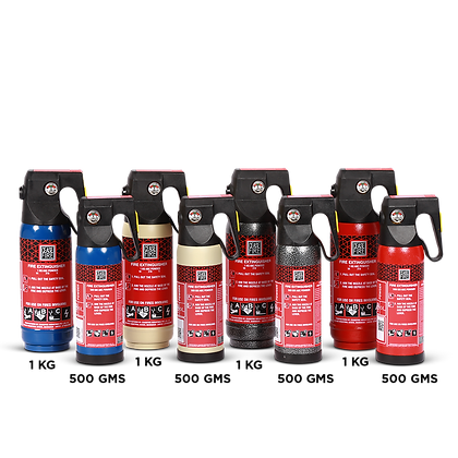 Home & Car Fire Extinguishers - Classic Range (Clean Agent Based)