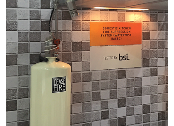 Domestic Kitchen Fire Suppression System (Water Mist Based)