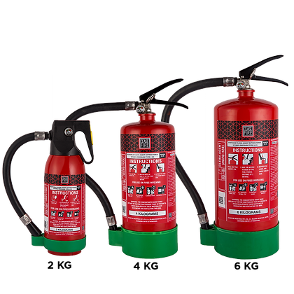 HCFC123 Clean Agent Based Portable (Stored Pressure Type) Fire Extinguishers