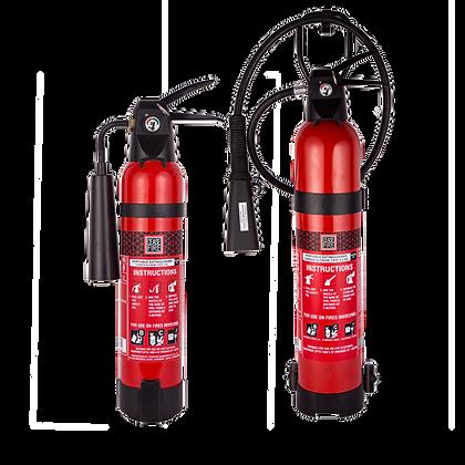 Co2 Based Portable & Wheeled (Stored Pressure) Fire Extinguishers-Aluminium Body