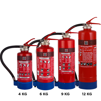 ABC Powder Based Portable (Spot Pressure Type) Fire Extinguishers