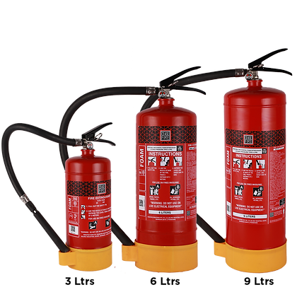 Foam Based Portable (Stored Pressure Type) Fire Extinguishers
