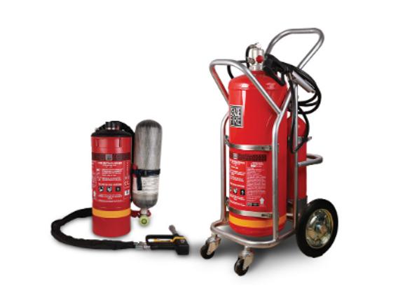 CAFS- Watermist Based Compressed Air Foam System (Low Pressure)