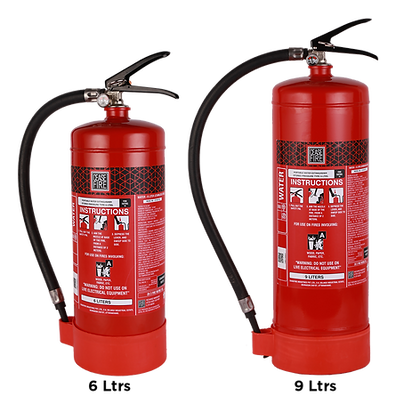 Water Based Portable (Stored Pressure Type) Fire Extinguishers
