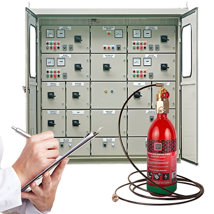 In-Panel Tube Based Fire Suppression-Direct (Pre-Engineered System)