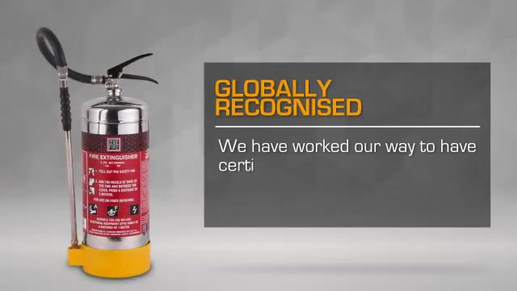 India's first firefighting range with dual certifications.