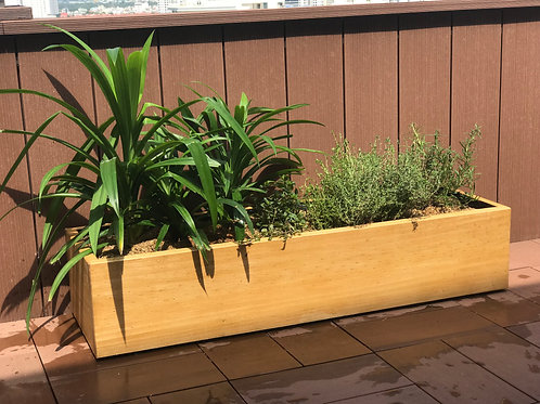 Chậu Gỗ | Planter Box L124.5xW28.5xH28cm