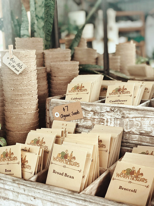 Organic Seed Starter Packs