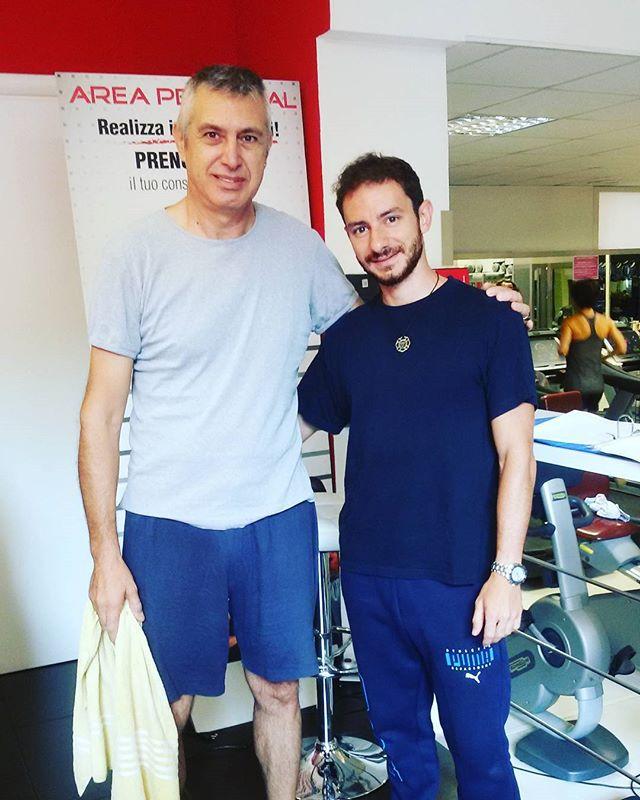 Un saluto a Alessandro che ha concluso il percorso individuale di posturale, risolvendo tutti i dolo