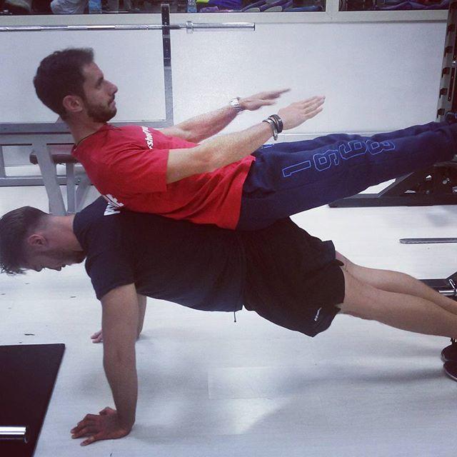 Artistic plank__#training #physiotrainer #artisticplank #allenamento #fitness