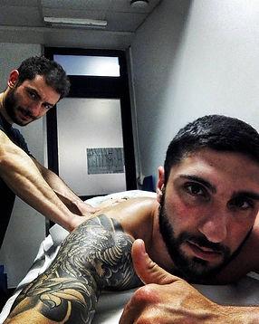 Fabrizio Leone massaggiatore