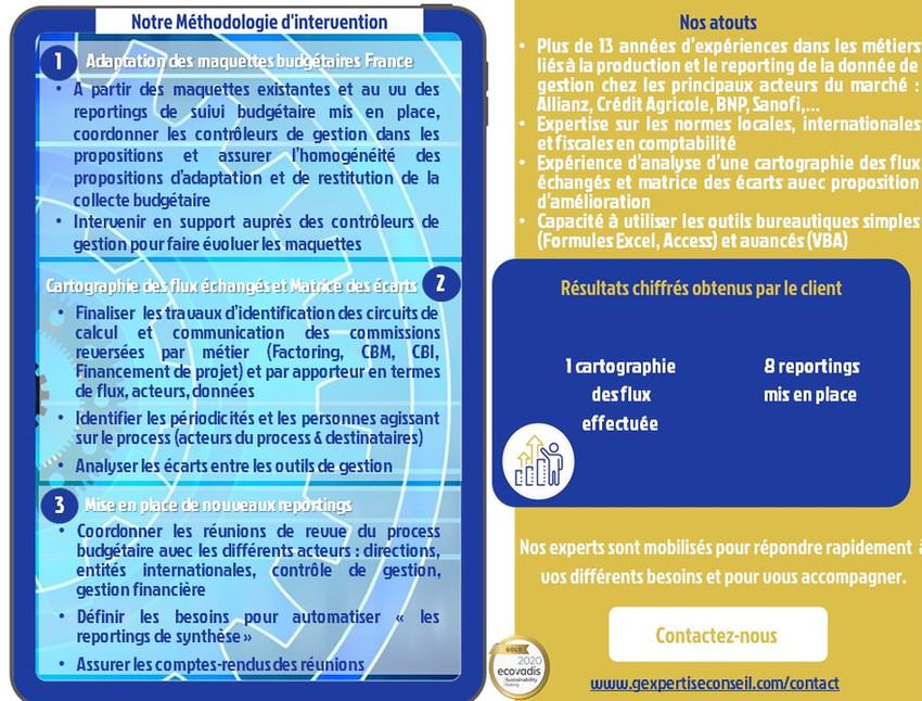 CDG - Sécurisation donnée de gestion