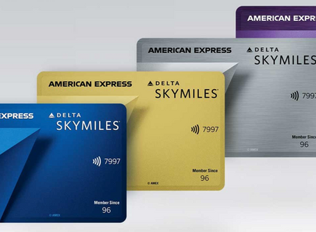 Delta's New Credit Card Offers Include Up to 100,000 Bonus Miles