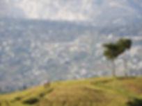 Mountains of Kenscoff Haiti