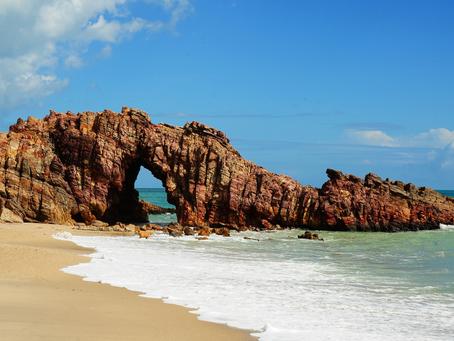 BEST BEACHS IN BRAZIL:Jericoacoara
