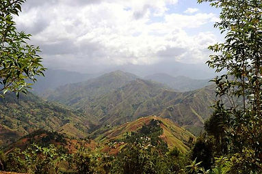 Mountains of Kenscoff Haiti