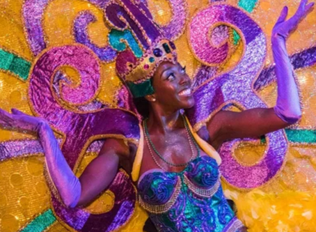 You Can Eat Beignets and Ride a Float at Universal Studios' Massive Mardi Gras Celebration