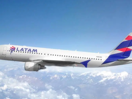LATAM permitirá alteração sem multa de data e destino para voos internacionais