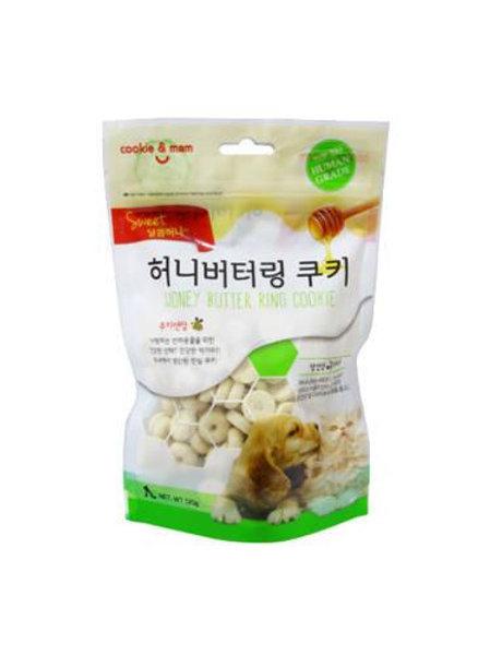 【狗癮零食】韓國오션蜂蜜奶油曲奇餅(香蕉) 120g