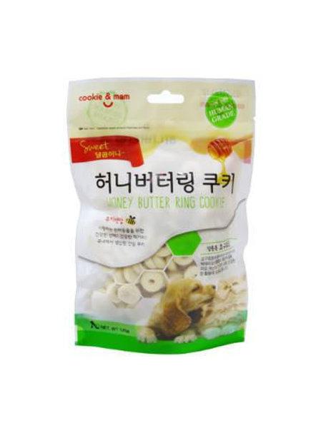 【狗癮零食】韓國오션蜂蜜奶油曲奇餅(優格) 120g