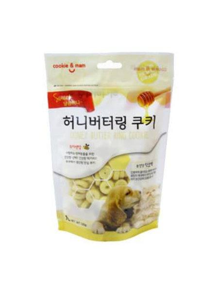 【狗癮零食】韓國오션蜂蜜奶油曲奇餅(南瓜) 120g