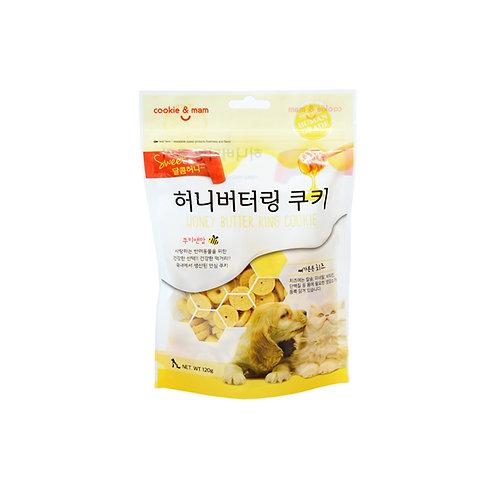 【狗癮零食】韓國오션蜂蜜奶油曲奇餅(起士) 120g