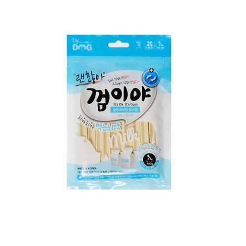 【狗癮零食】韓國오션寵物潔牙骨       ( 牛奶口味 )