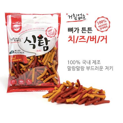 【狗癮零食】韓國오션 雞肉起司條 ( 100g )