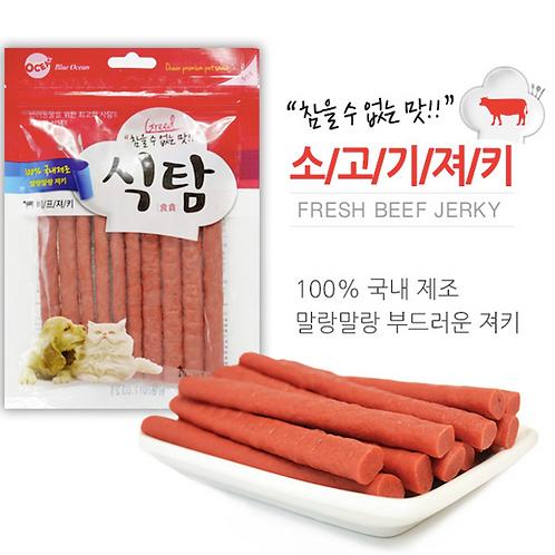 【狗癮零食】韓國오션牛肉點心條 ( 90g )