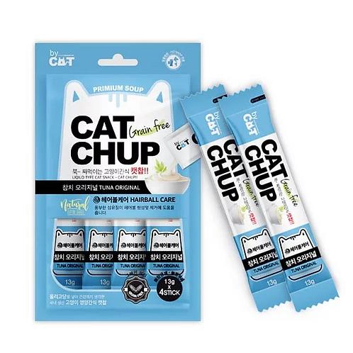 【貓癮零食】韓國 Cat Chup 啾嚕 貓點心 ciao肉泥(金槍魚)