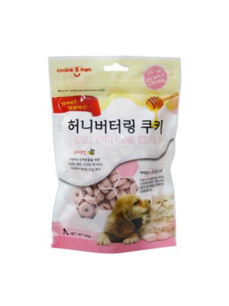 【狗癮零食】韓國오션蜂蜜奶油曲奇餅(紫薯) 120g