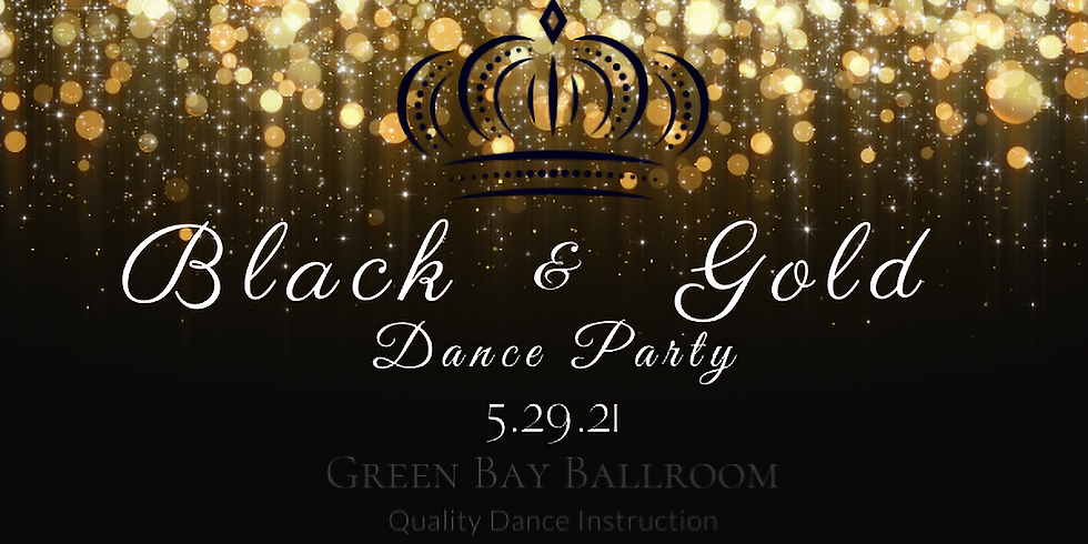 Black & Gold Dance Party
