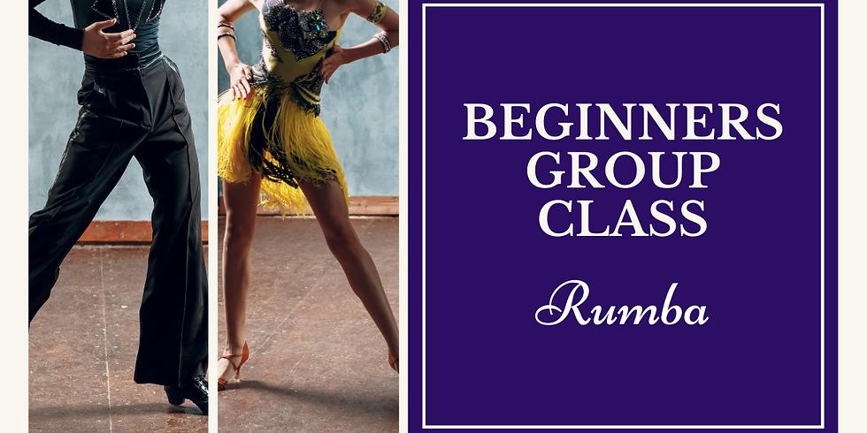Beginners Group Class - Rumba (1)