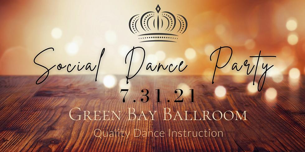 Social Dance Party 7.31.21