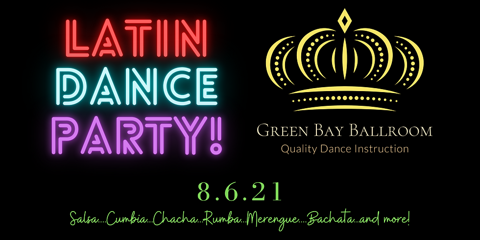August Latin Dance Party