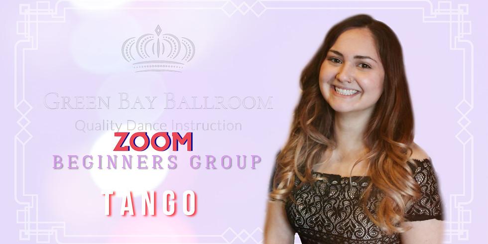 ZOOM Online Beginners Group Class - Tango