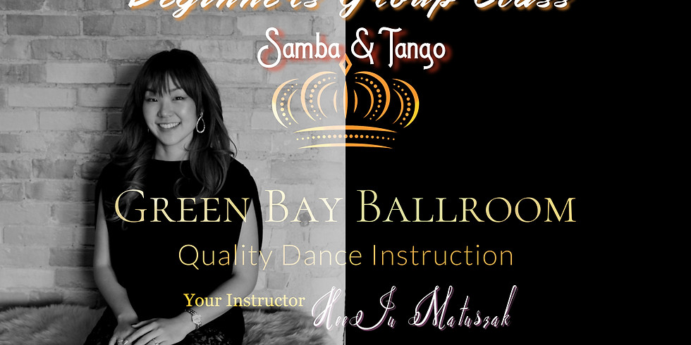 Beginners Group Class - Samba & Tango