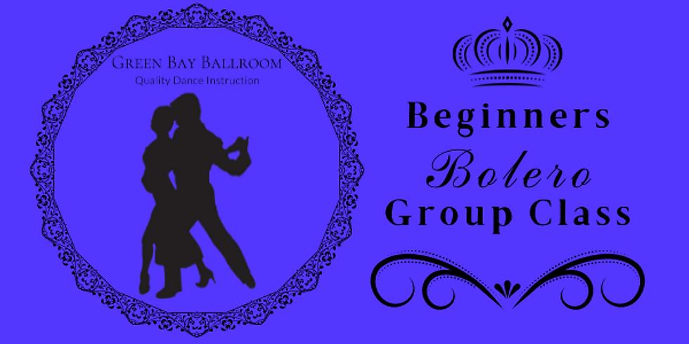 Beginners Group Class - Bolero