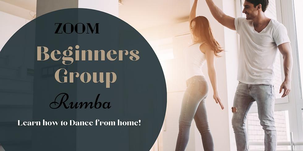 ZOOM Beginners Group - Rumba