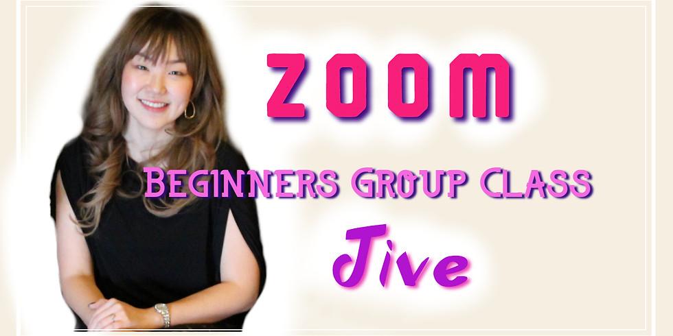 ZOOM Online Beginners Group Class - Jive