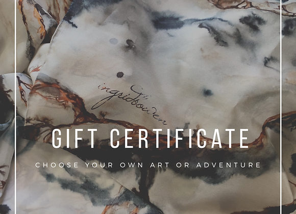 Gift Certificate - custom amount