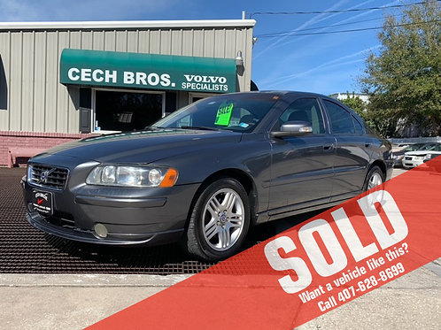 2007 Volvo S60 4dr Sdn 2.5L Turbo AT FWD w/Snrf