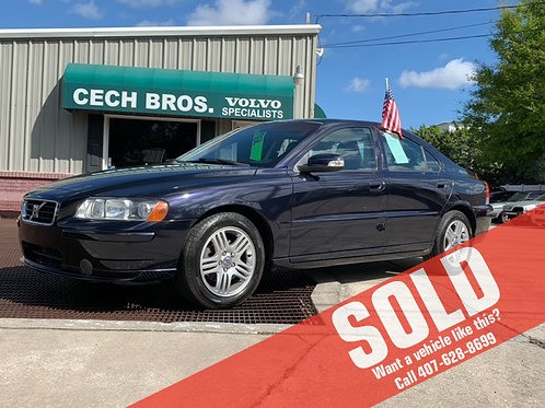 2007 Volvo S60 4dr Sdn 2.5L Turbo AT FWD