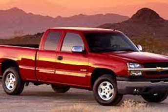 "2003 Chevrolet Silverado 1500 Ext Cab 143.5"" WB LS"