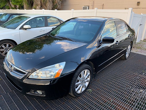 2007 Honda Accord Sdn 4dr V6 AT EX-L