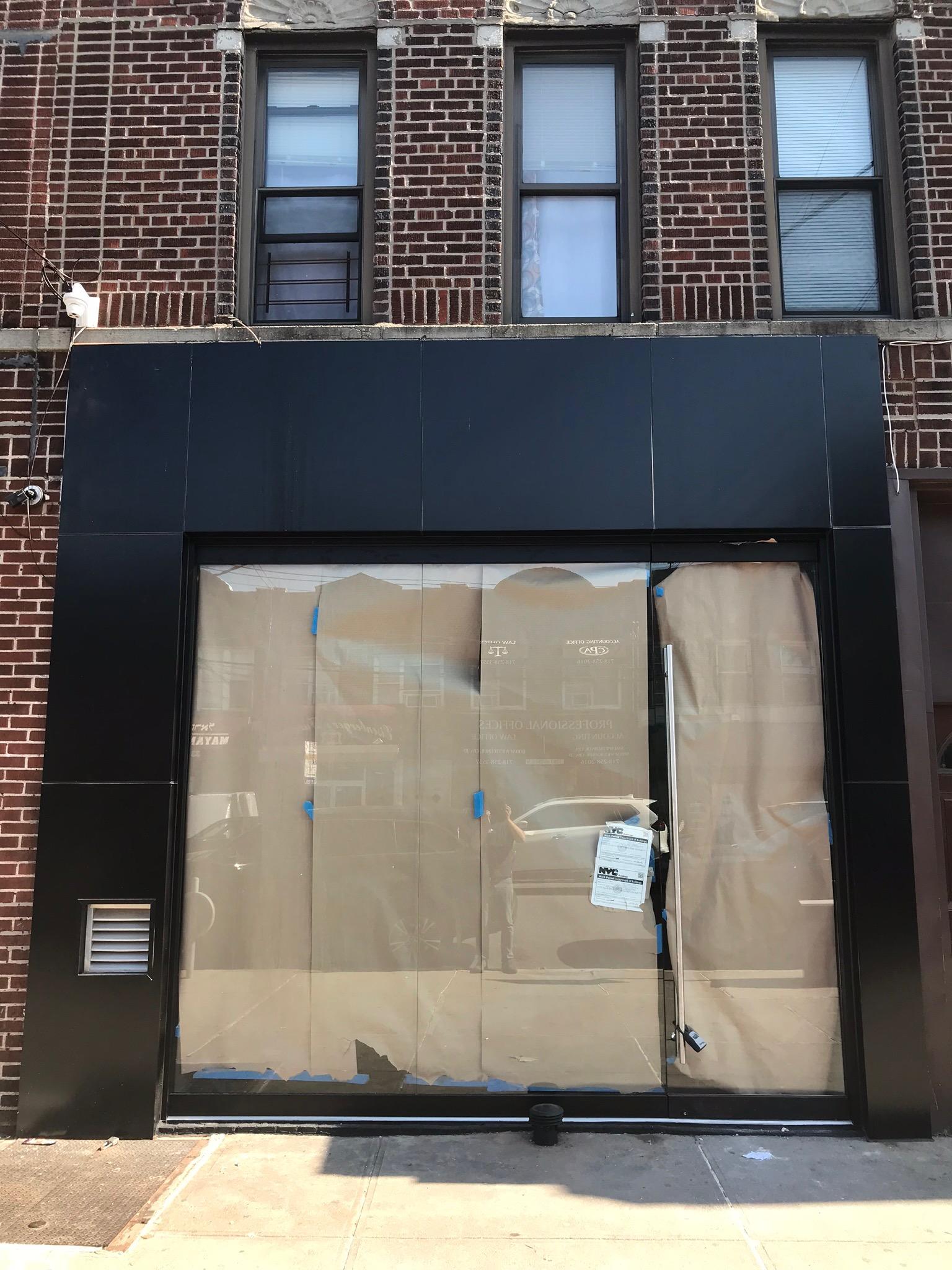 Herculite Storefront