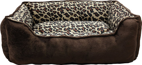 LARGE CHEETAH STEP-IN BED